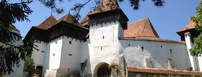 Biserica Evanghelică Fortificată Viscri is one of UNESCO World Heritage Sites in Eastern Europe.