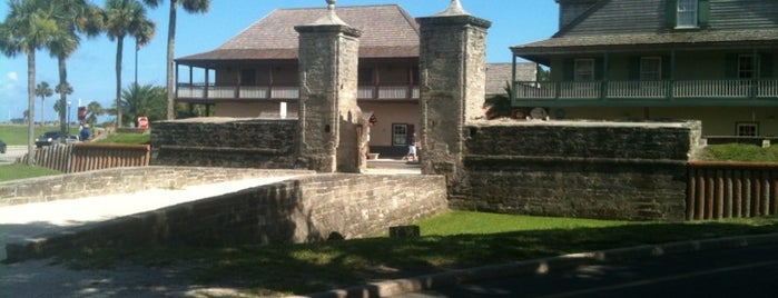 Old City Gates is one of St Augustine Florida.