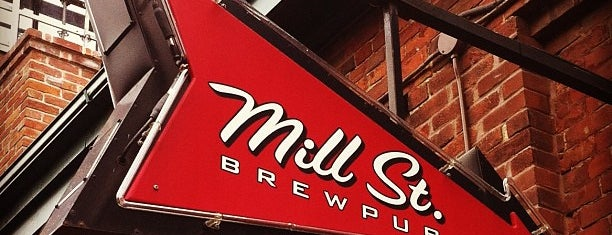 Mill St. Brew Pub is one of Ontario Craft Brewers.