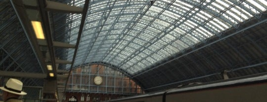 St. Pancras Uluslararası Tren İstasyonu (STP) is one of London: To-Go.