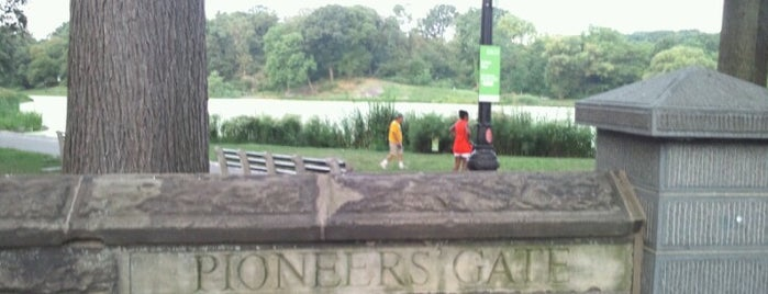 Pioneers' Gate is one of public outdoor spaces I heart.
