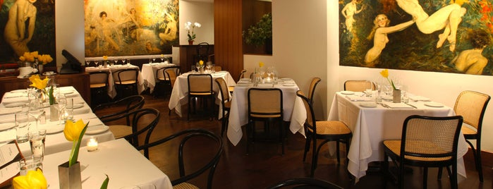 The Leopard at des Artistes is one of nyc - restaurants.