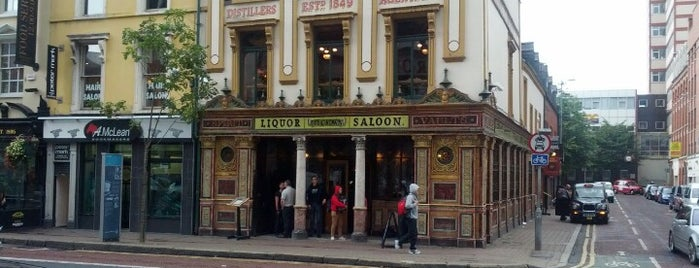 The Crown Liquor Saloon is one of Belfast.