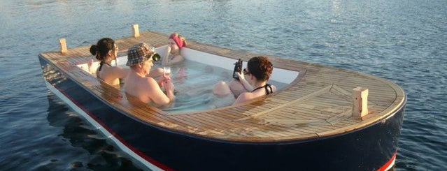 Hot Tub Boats is one of Thrillist's Best Day of Your Life: Seattle.