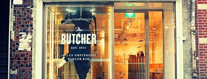 The Butcher is one of Amsterdam ye&iç.