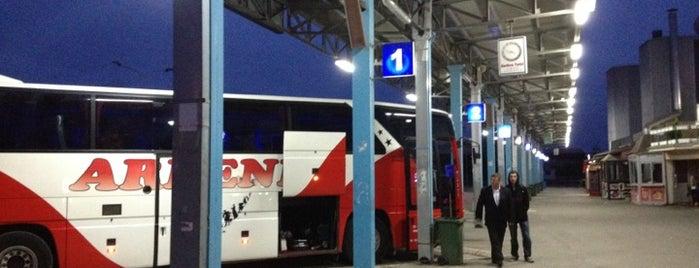 Stacioni i Autobusëve / Bus Station is one of Lieux qui ont plu à Carl.