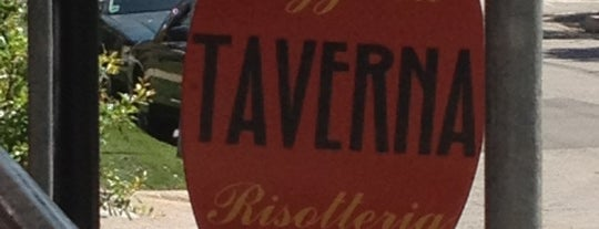 Taverna is one of Favorite restaurants.