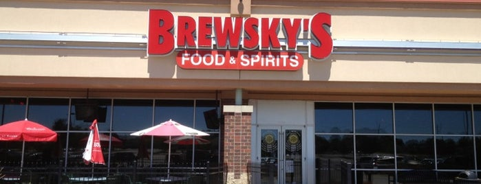 Brewsky's Food & Spirits is one of Fun places.