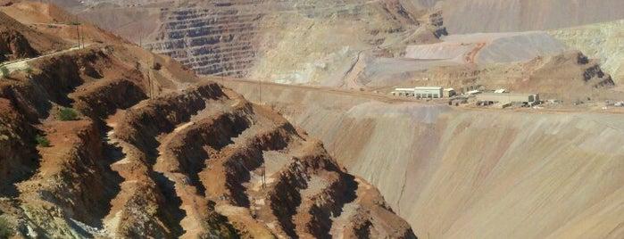 Morenci Mine Overlook is one of Morenci Arizona.