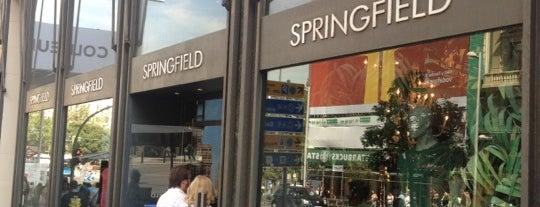 Springfield is one of Tempat yang Disimpan Aleyda.
