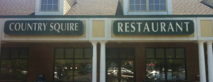 Country Squire Restaurant is one of Orte, die Jason gefallen.