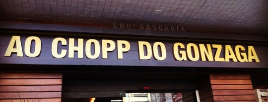 Ao Chopp do Gonzaga is one of 20 favorite restaurants.