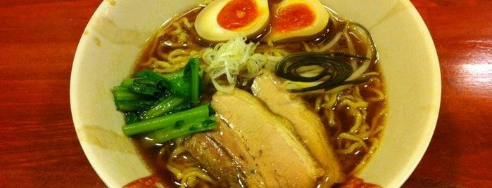 旬麺 しろ八 is one of 新宿御苑前のラーメン.