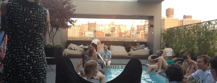 La Piscine at Hôtel Americano is one of Best Rooftop and Outdoor Bars in New York City.