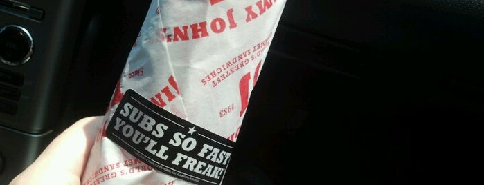 Jimmy John's is one of Lugares favoritos de Irena.