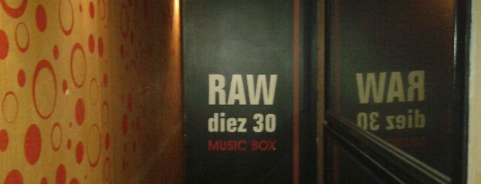 Club Raw is one of Buenos Aires.