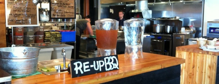 Re-Up BBQ is one of YVR.