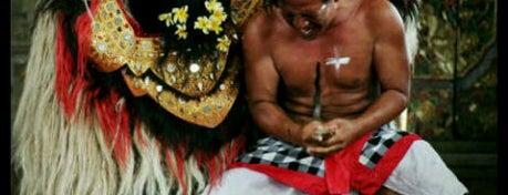 Barong Dance Putra Barong Celuk is one of DENPASAR - BALI.