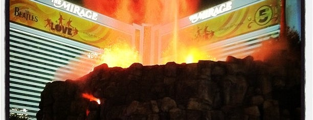 The Mirage Volcano is one of Specific Nevada.