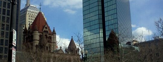 Copley Square is one of Boston Must Do.