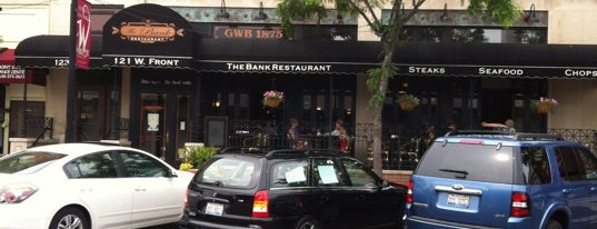 The Bank Restaurant & Bar is one of Orte, die Hannah gefallen.