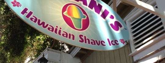 Ululani's Hawaiian Shave Ice is one of Maui Wowie.