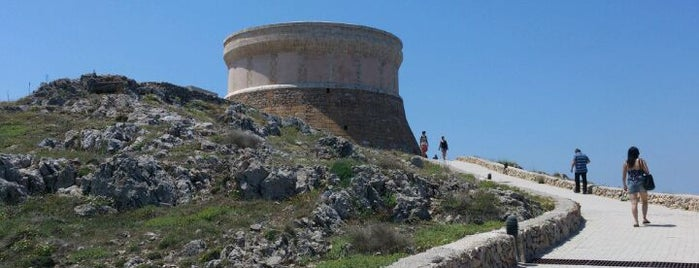 Torre de Fornells is one of Menorca.
