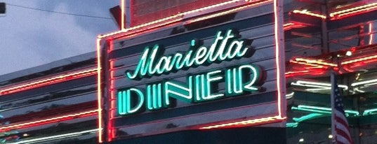 Marietta Diner is one of Lugares favoritos de Greg.
