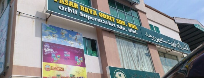 Orbit Supermarket Sdn Bhd is one of Locais curtidos por Ara.