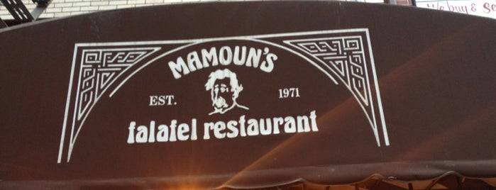 Mamoun's Falafel is one of NYC Favourites.
