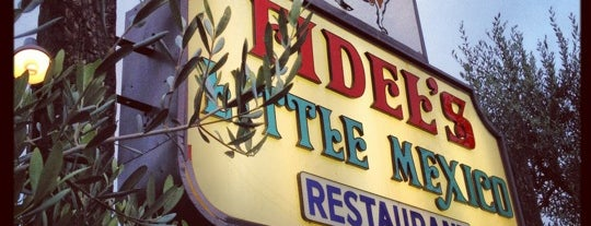 Fidel's Little Mexico is one of San Diego飯.