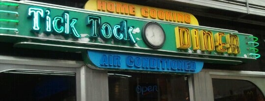 Tick Tock Diner is one of NYC.