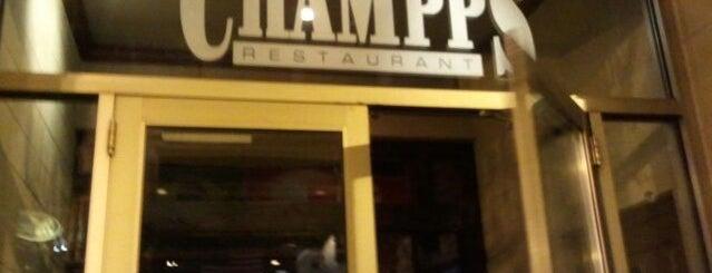 Champps is one of Tempat yang Disukai Sunjay.