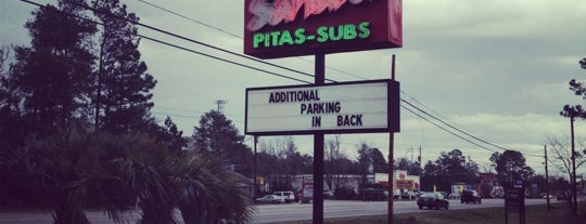Sahara Pitas-Subs is one of Where to Eat in Wilmington, NC.