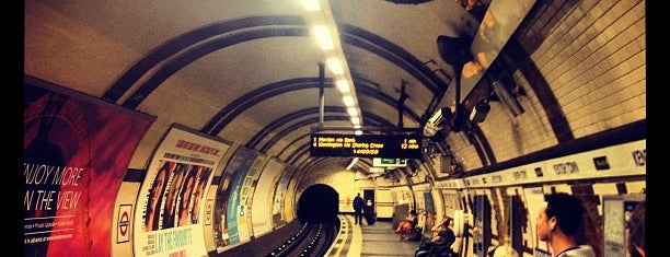 Kentish Town London Underground Station is one of Lieux qui ont plu à Barry.
