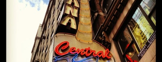 Havana Central Times Square is one of Favorite Restaurant Lounges.