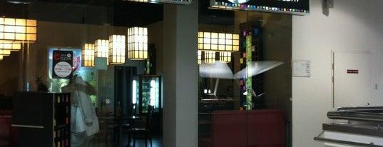 T-Bar Sushi is one of Orte, die EVGENIA gefallen.