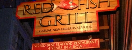 Red Fish Grill is one of New Orleans.
