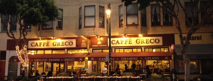 Caffé Greco is one of Cafes/Restaurants SF Done.