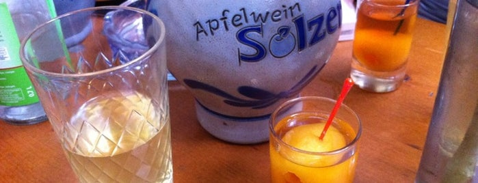 Apfelwein Solzer is one of Frankfurt.
