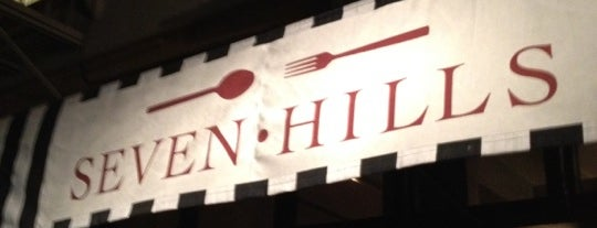 Seven Hills is one of To Try.