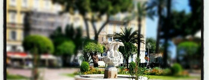 Square Yitzhak Rabin (Jardin de l'Armenie) is one of visit again.