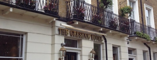 Gresham Hotel London is one of Went Before 4.0.