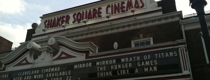 Shaker Square Cinemas is one of Orte, die John gefallen.