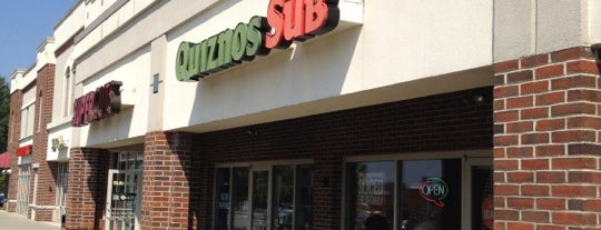 Quiznos is one of Things I've seen or done.