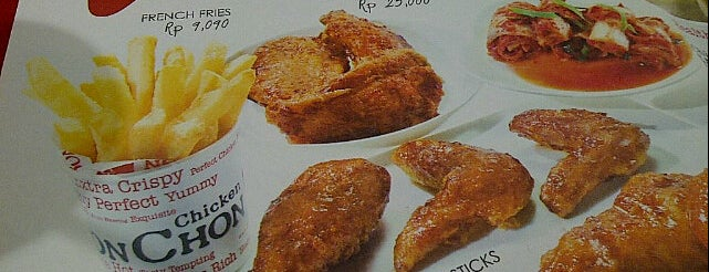 BonChon Chicken is one of Jakarta.