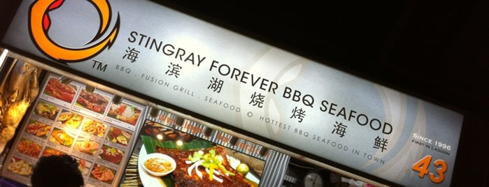 Stingray Forever BBQ Seafood is one of SG.