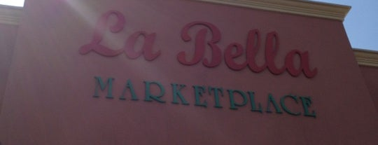 La Bella Marketplace is one of Food Club.