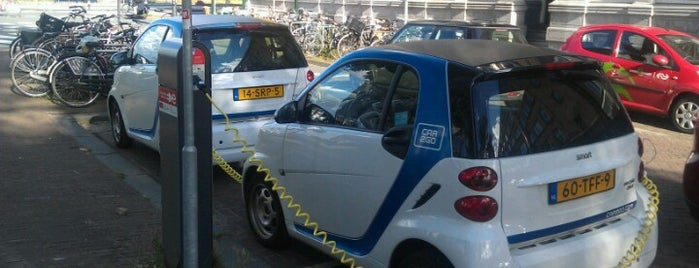 Laadpaal Barentszplein is one of Arnoud's EV charging stations.
