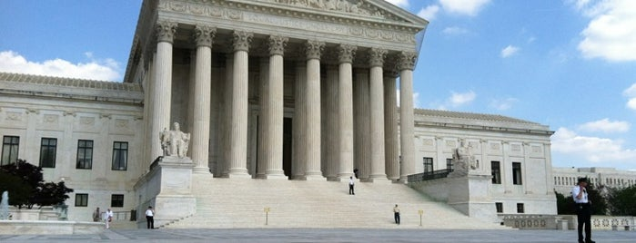 Supreme Court of the United States is one of Washington, DC.